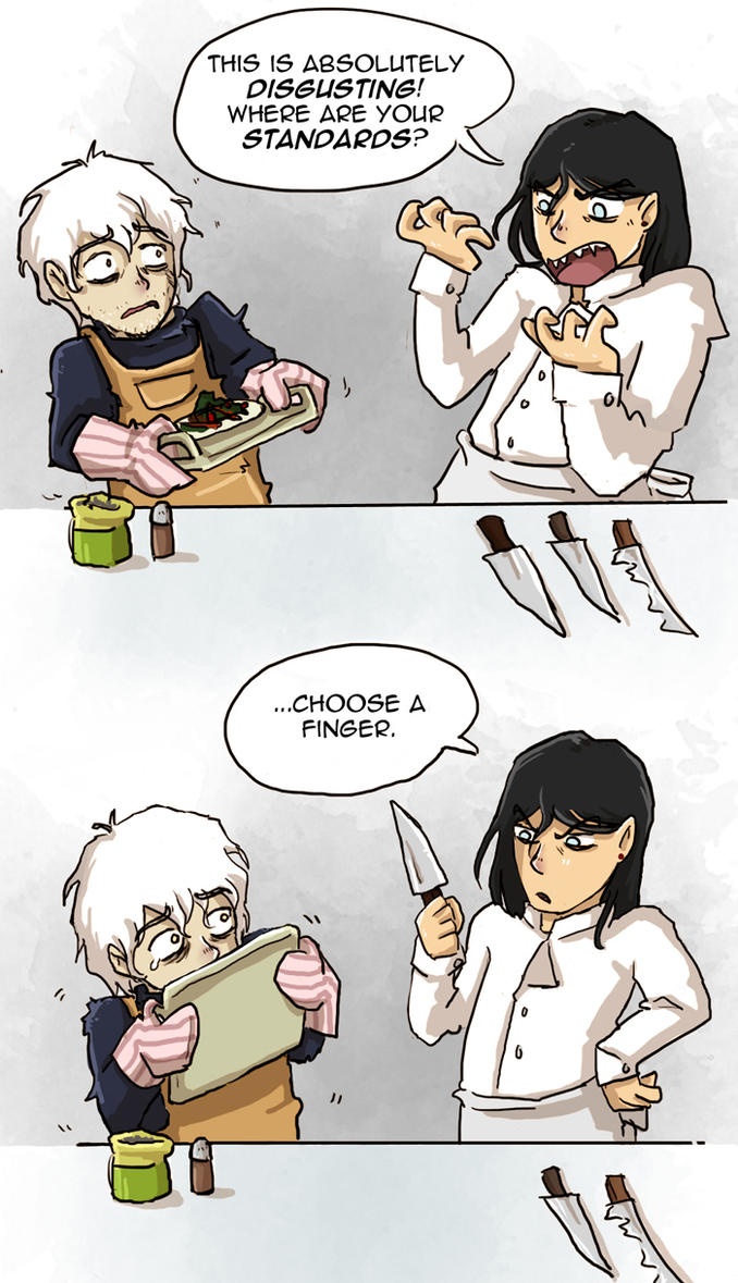 Kitchen Nightmares at the Dreadfort by Thrumugnyr on DeviantArt
