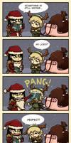 Reek the red nosed Reindeer