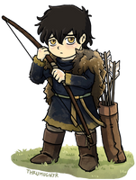Baby Theon by Thrumugnyr