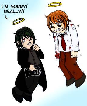 Death Note - Stupid Mikami