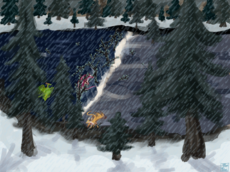 Survival in the Mountains art (PPAU)