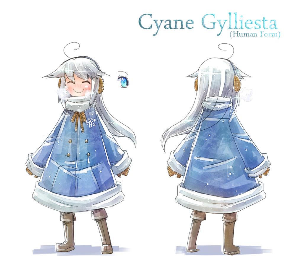 Character sheet - Cyane Gylliesta