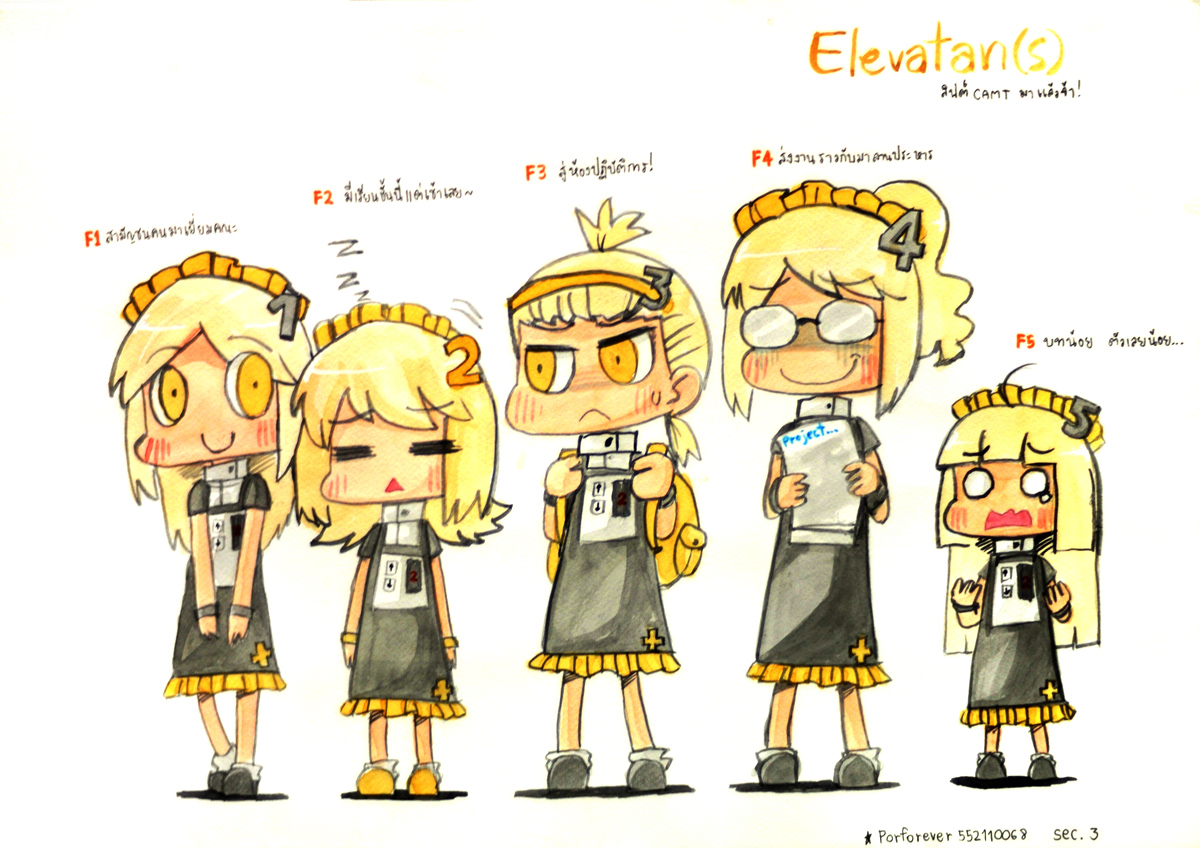 Elevatans Ready! by Porforever