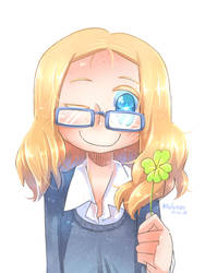 Lucky Clover by Porforever
