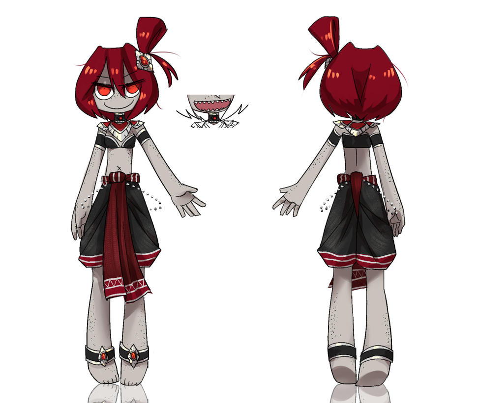 Character Sheet - Kanya by Porforever