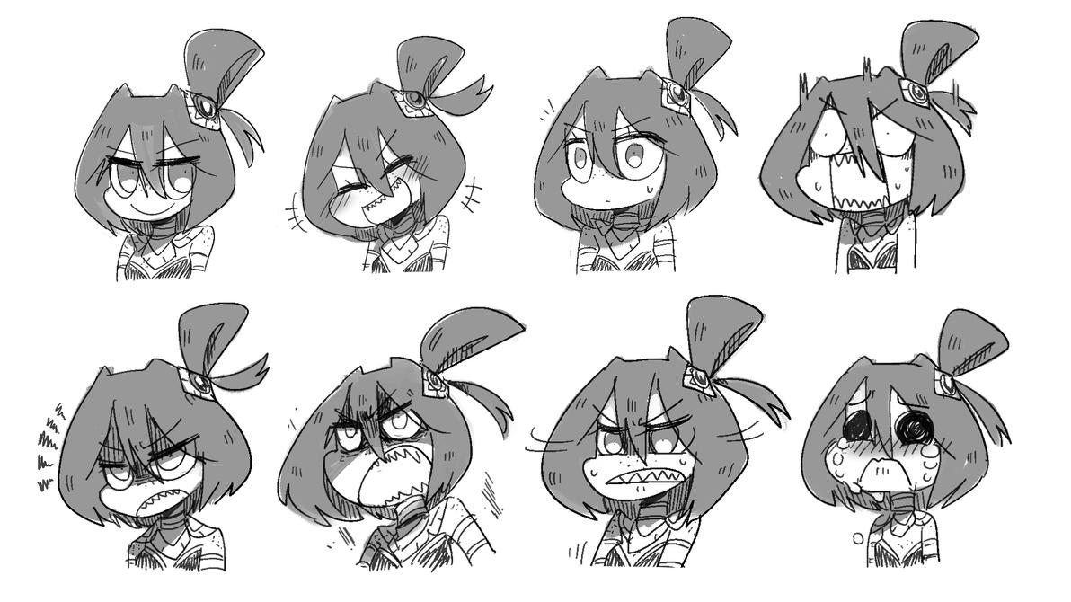 Character Detail - Kanya Expressions by Porforever