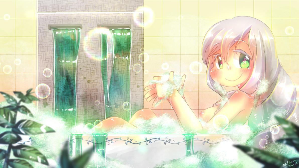 Emerald Bath by Porforever