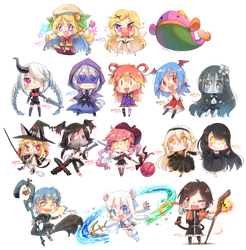 Speed Chibi Characters