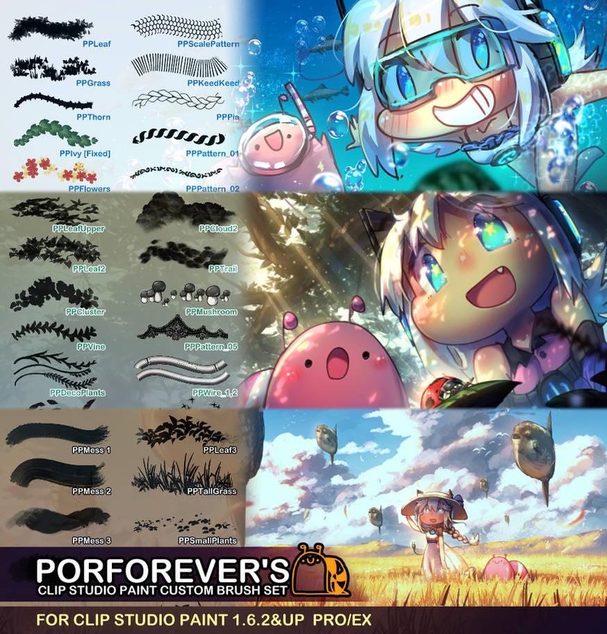 Porforever's Custom Brush - All Sets Pack by Porforever