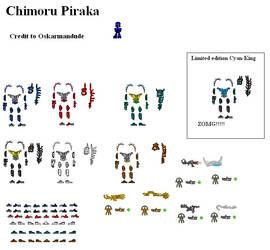 Chimoru Piraka by Oskarmandude