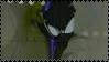 Dark super sonic stamp by Oskarmandude