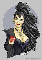 The Evil Queen/ Regina Mills by jny016