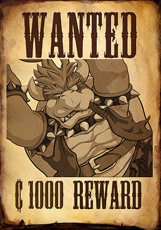 WANTED by MasaBowser
