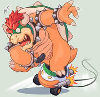 Invitation to New Year Racing in Bowser works team by MasaBowser