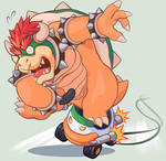 Invitation to New Year Racing in Bowser works team