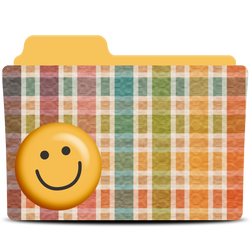 Smile folder icon by akamichan9