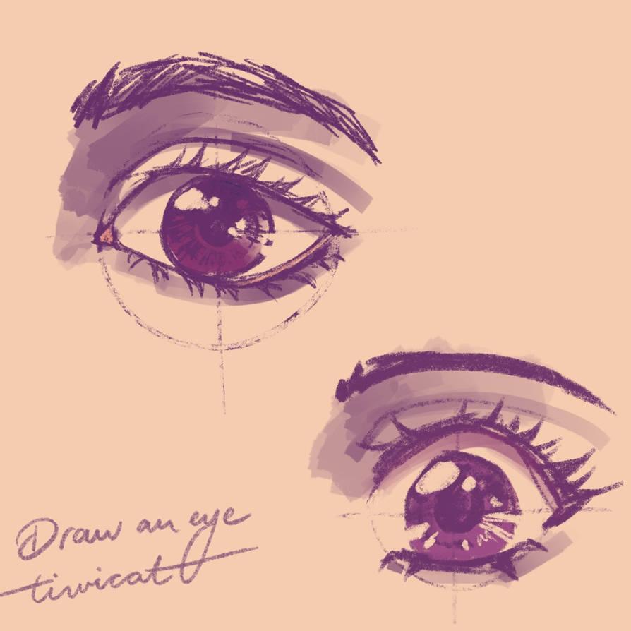 # Draw an eye with reiq.
