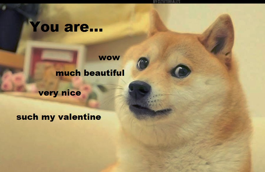 Very Doge Valentine by gabrielle44