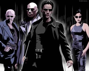 The Matrix Has You... by linzi-chan