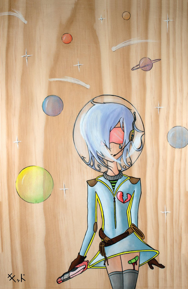 Lonely Space Scout by jenkiddo