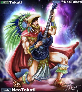 Rockero Azteca 2017 by Tokatl