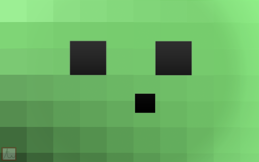 Minecraft Slime Background by ThinkPixel
