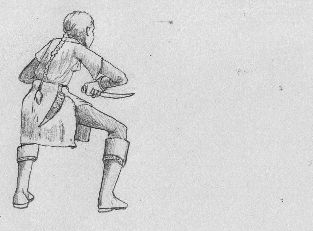 Eda Colton - Fightstance by BromeliaCarnivora