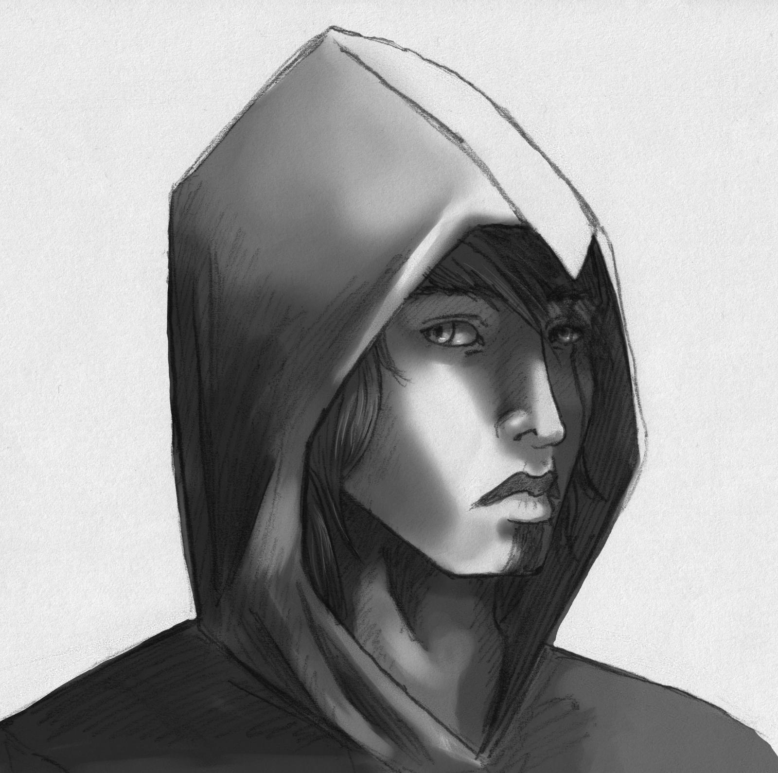 Aetos Darien Greyscale by Chardoz