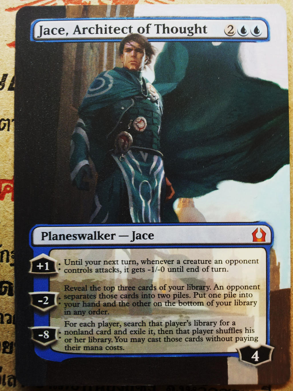 KEEP INFORMED   Jace Architect Of Thought Altered