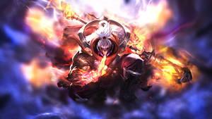 League of Legends: God Staff Jax  Wallpaper
