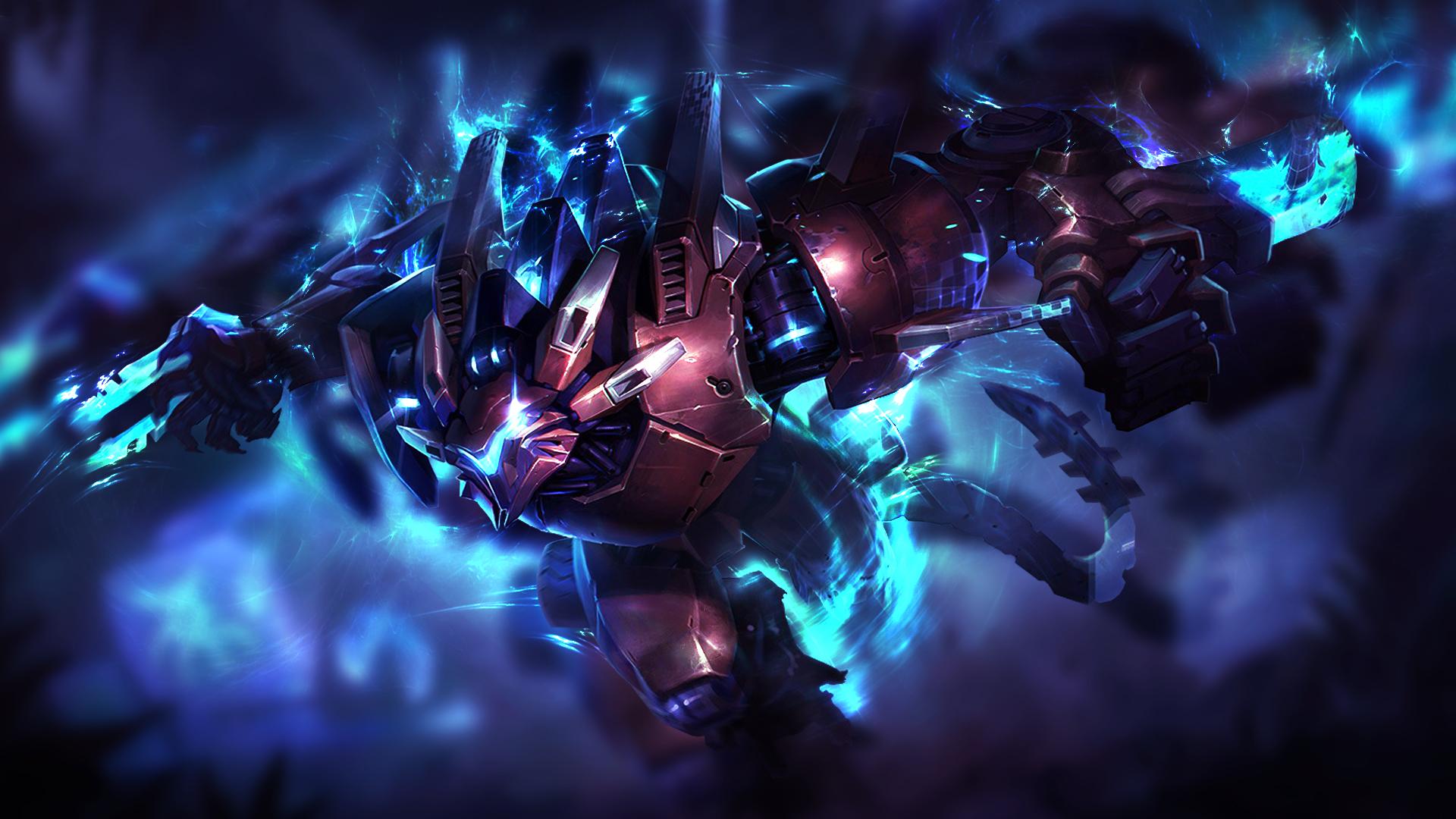 League Of Legends Mecha Rengar Wallpaper By Mr Booker On