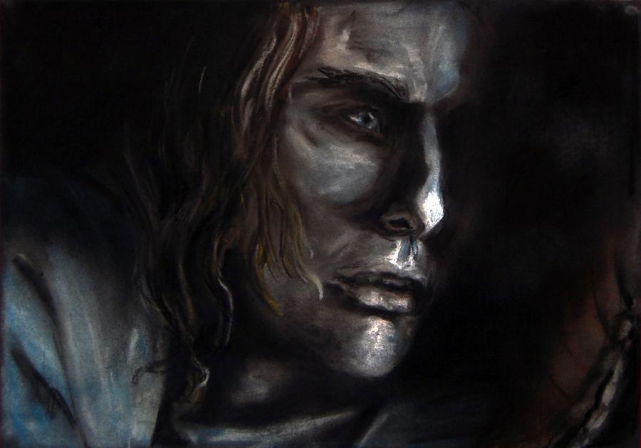 entrevista con el vampiro en oleo y acuarelas Lestat_by_pmbrzezinska