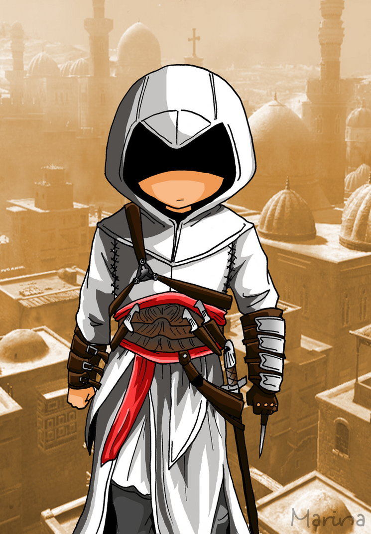 Altair (Assassins Creed) by Hikari-15-L on DeviantArt