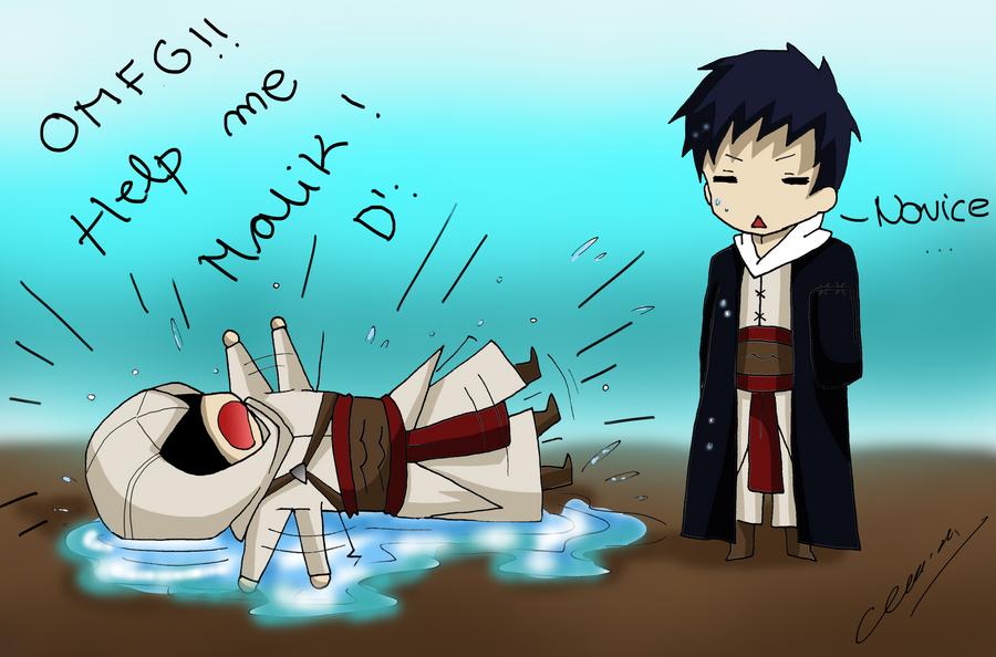 Altair needs Malik's help by Hikari-15-L