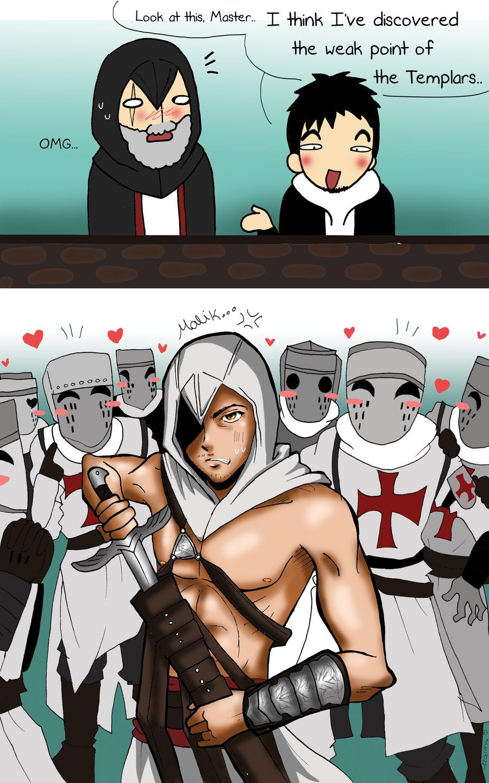 Templars weak point by Hikari-15-L