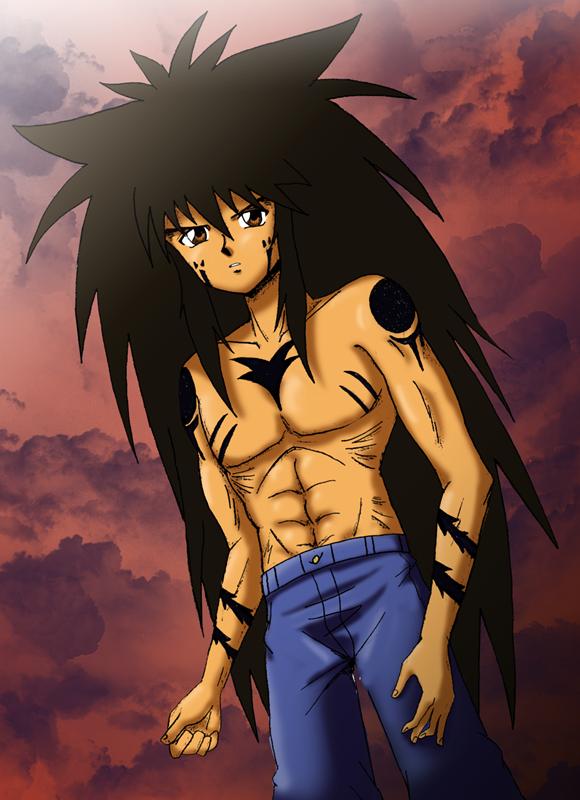 Yu yu hakusho hiei demon form pictures to pin on pinterest for Yusuke demon