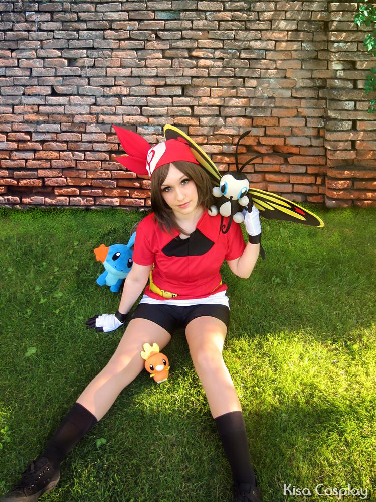 Aura/May Pokemon trainer! by Hikari-15-L
