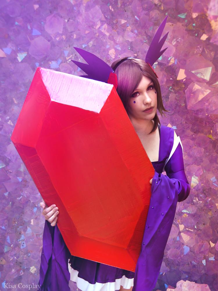 Mega Sableye cosplay ! by Hikari-15-L