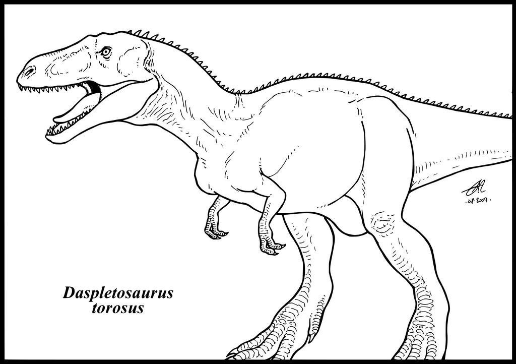 Daspletosaurus torosus by zakafreakarama