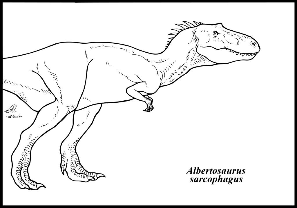 Albertosaurus Sarcophagus By Zakafreakarama