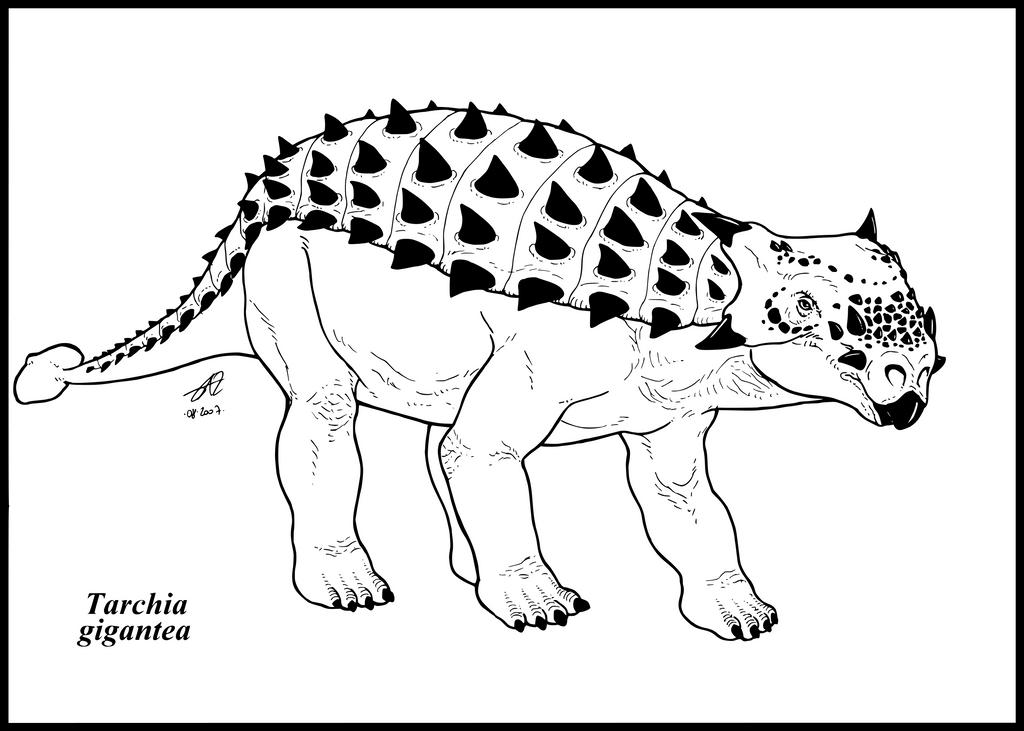 Tarchia gigantea by zakafreakarama
