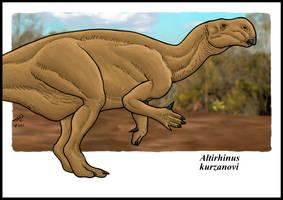 Altirhinus by zakafreakarama