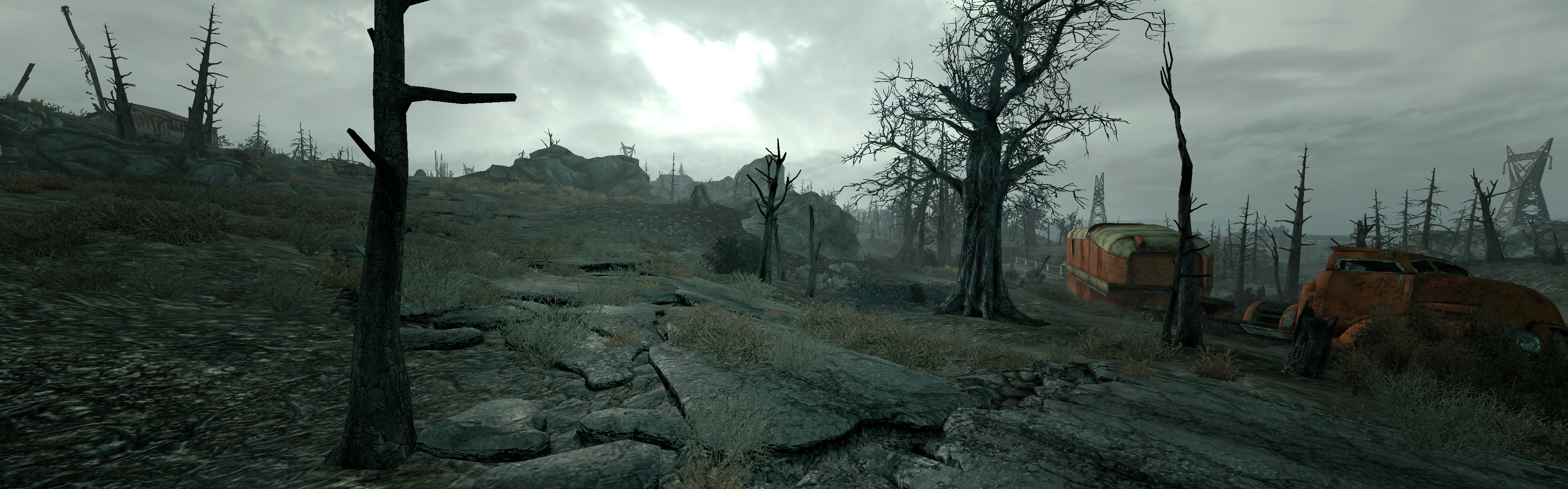 Fallout3 Dual Screen Wallpaper By Stickweed
