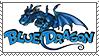 Timbre Blue Dragon by LeDrBenji