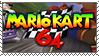 Timbre Mario Kart 64 by LeDrBenji