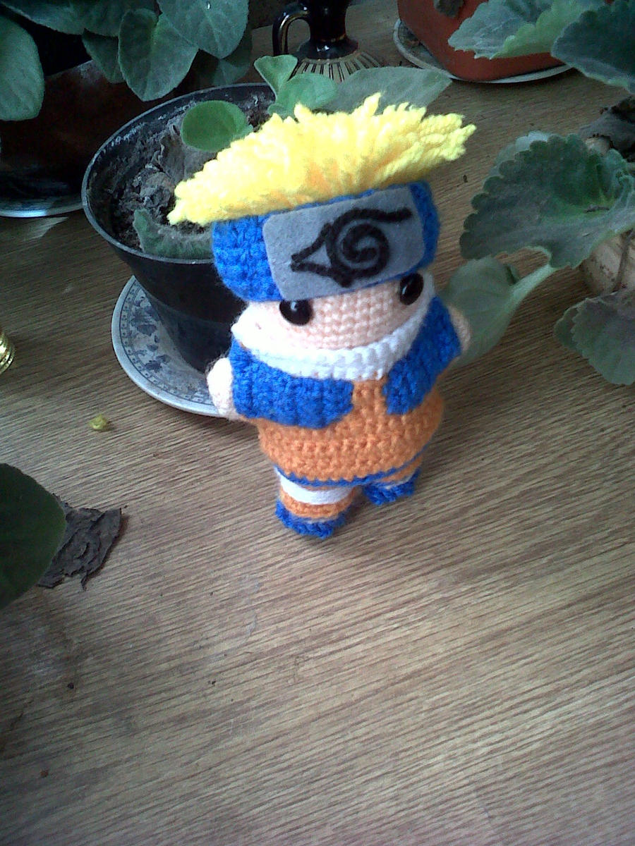 Naruto Uzumaki by gwendigurumis