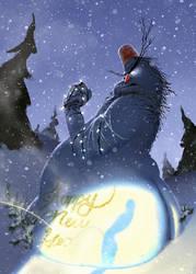 Snowman by Maximyz
