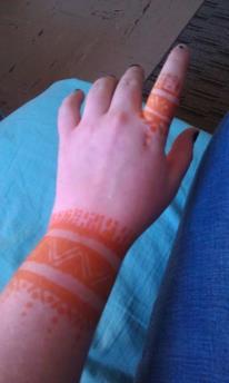 Henna Bracelet by KenjutsuPrincess