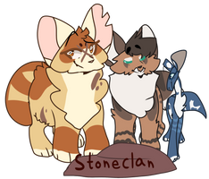 [ Stoneclan's High Ranks - DoW ] by CallTheAmberlance
