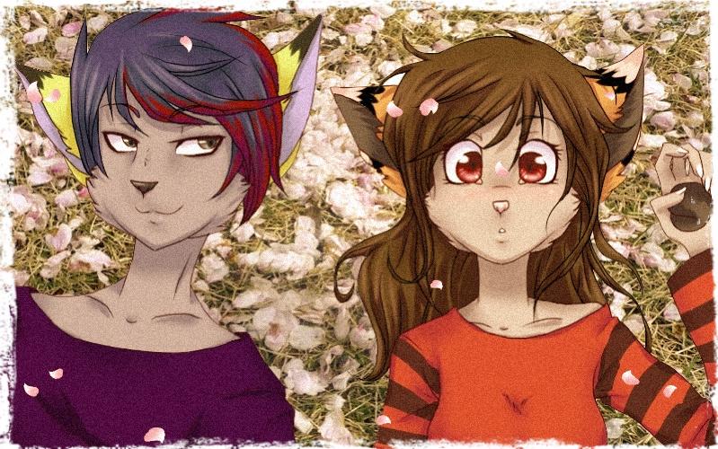 Cherry Blossom~ by Furry-CancanLou